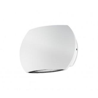NOVA LUCE 741661 | Como Nova Luce fali lámpa 2x LED 510lm 3000K IP54 fehér