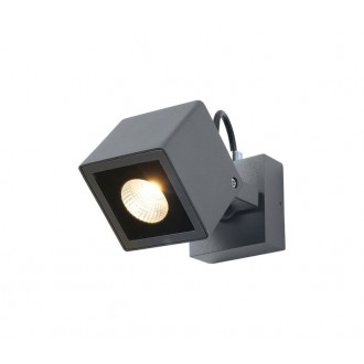 NOVA LUCE 752470 | Focus-NL Nova Luce falikar lámpa elforgatható alkatrészek 1x LED 420lm 3000K IP54 sötétszürke