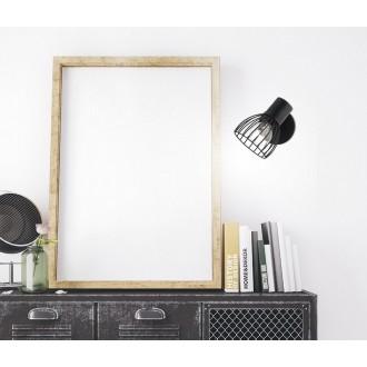 NOVA LUCE 770010 | Fiumicino Nova Luce spot lámpa elforgatható alkatrészek 1x E14 matt fekete
