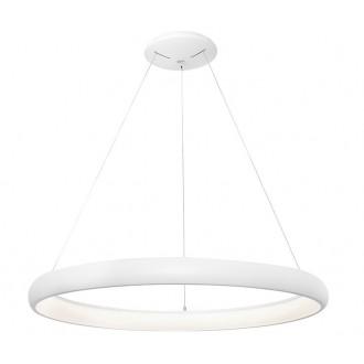 NOVA LUCE 8105601 | Albi-NL Nova Luce függeszték lámpa 1x LED 2500lm 3000K fekete, fehér