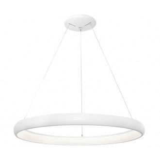 NOVA LUCE 8105601D | Albi-NL Nova Luce függeszték lámpa 1x LED 2500lm 3000K fekete, fehér