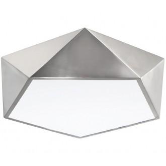 NOVA LUCE 8186204   Darius-NL Nova Luce mennyezeti lámpa 4x E27 szatén nikkel, fehér