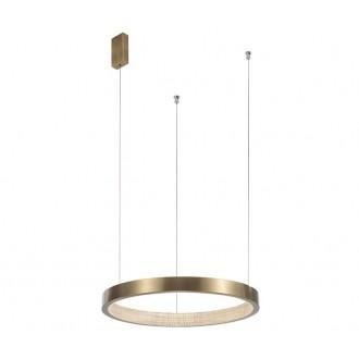 NOVA LUCE 86016808 | Vegas-NL Nova Luce függeszték lámpa 1x LED 1020lm 3000K antikolt bronz