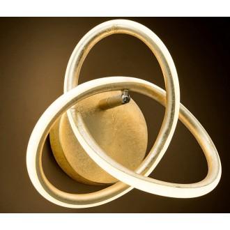 NOVA LUCE 9002606 | Arco-NL Nova Luce fali lámpa 1x LED 660lm 3000K arany, fehér