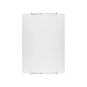 NOWODVORSKI 1131   Classic Nowodvorski fali, mennyezeti lámpa téglalap 1x E27 fehér