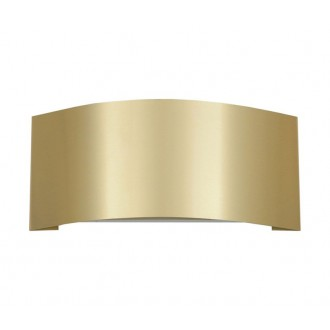 NOWODVORSKI 2985 | Keal Nowodvorski fali lámpa 1x G9 arany