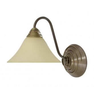 NOWODVORSKI 2994 | Victoria Nowodvorski falikar lámpa 1x E27 antikolt arany, bézs