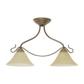 NOWODVORSKI 2996 | Victoria Nowodvorski mennyezeti lámpa 2x E27 antikolt arany, bézs