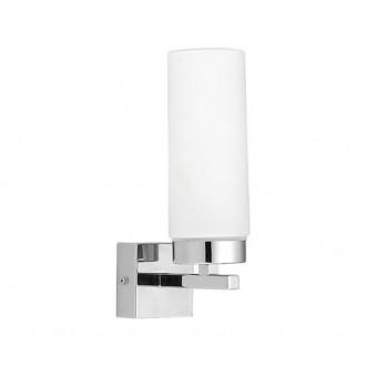 NOWODVORSKI 3346 | Celtic Nowodvorski fali lámpa 1x E14 IP44 króm, fehér