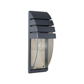NOWODVORSKI 3393 | MistralN Nowodvorski fali lámpa 1x E27 IP44 fekete