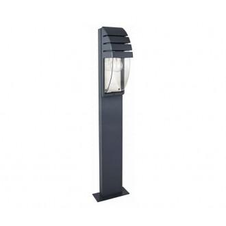 NOWODVORSKI 3394 | MistralN Nowodvorski álló lámpa 100cm 1x E27 IP44 fekete