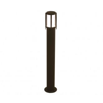 NOWODVORSKI 3396 | Sirocco Nowodvorski álló lámpa 90cm 1x E27 IP44 fekete, opál