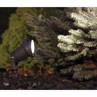 NOWODVORSKI 3401 | Bush Nowodvorski leszúrható lámpa 1x GU10 IP65 fekete
