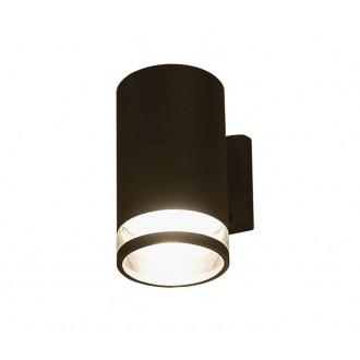 NOWODVORSKI 3405 | RockN Nowodvorski fali lámpa 1x E27 IP44 fekete, áttetsző