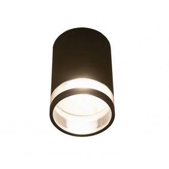 NOWODVORSKI 3406 | RockN Nowodvorski mennyezeti lámpa 1x E27 IP44 fekete, átlátszó