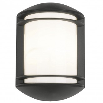 NOWODVORSKI 3411 | Quartz Nowodvorski fali lámpa 1x E27 IP21 fekete, fehér