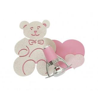 NOWODVORSKI 3656 | Honey Nowodvorski fali lámpa elforgatható alkatrészek 1x E14-R50 rózsaszín, fehér