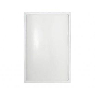 NOWODVORSKI 3751 | Garda Nowodvorski fali, mennyezeti lámpa energiatakarékos izzóhoz tervezve 1x E27 IP65 UV ezüst