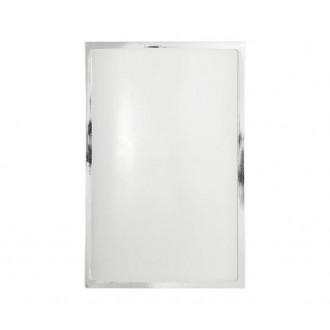 NOWODVORSKI 3752 | Garda Nowodvorski fali, mennyezeti lámpa energiatakarékos izzóhoz tervezve 1x E27 IP65 UV króm, fehér