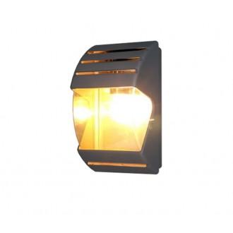 NOWODVORSKI 4390 | MistralN Nowodvorski fali lámpa 1x E27 IP44 fekete