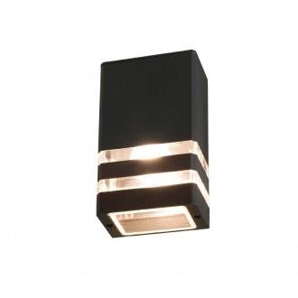 NOWODVORSKI 4423 | Rio Nowodvorski fali lámpa 1x E27 IP54 fekete, áttetsző