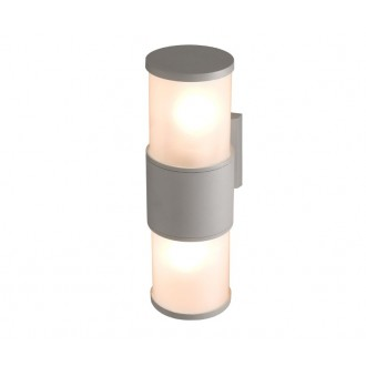 NOWODVORSKI 4431 | Torrens Nowodvorski fali lámpa 2x E27 IP54 szürke, fehér