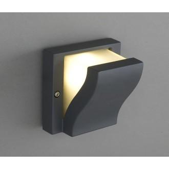 NOWODVORSKI 4437 | Makalu Nowodvorski fali lámpa 1x G9 IP44 sötét szürke