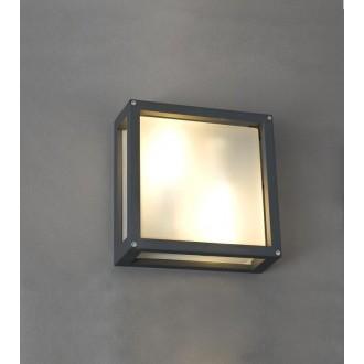 NOWODVORSKI 4440 | Indus Nowodvorski fali lámpa energiatakarékos izzóhoz tervezve 2x E27 IP44 fekete, fehér