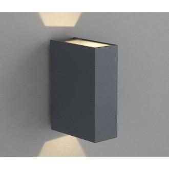 NOWODVORSKI 4442 | Dras Nowodvorski fali lámpa 2x LED 122lm 3000K IP54 szürke