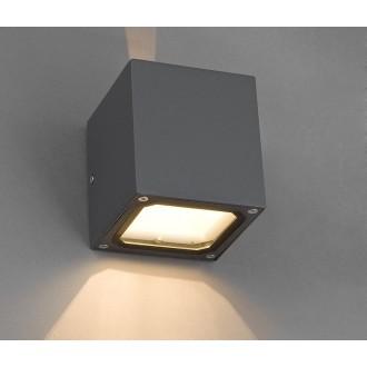 NOWODVORSKI 4443 | Khumbu Nowodvorski fali lámpa 1x G9 IP44 szürke