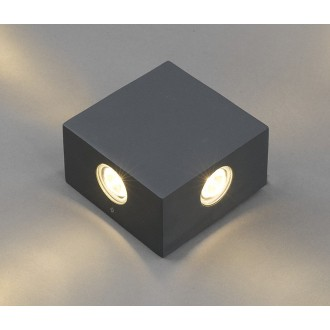 NOWODVORSKI 4444 | Zem Nowodvorski fali lámpa 4x LED 321lm 3000K IP54 szürke