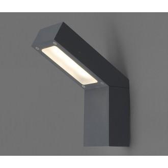 NOWODVORSKI 4447 | Lhotse Nowodvorski fali lámpa 3x LED 169lm 3000K IP54 fekete, fehér