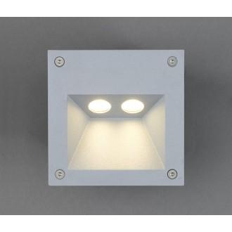 NOWODVORSKI 4450 | Rimo Nowodvorski beépíthető lámpa 2x LED 169lm 3000K IP65 alumínium