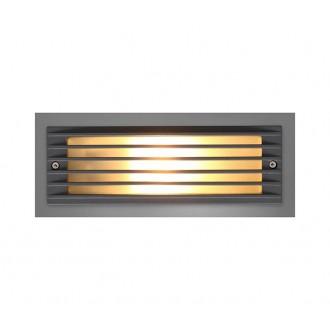 NOWODVORSKI 4453 | Assam Nowodvorski beépíthető lámpa energiatakarékos izzóhoz tervezve 1x E27 IP65 szürke