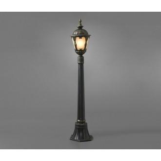 NOWODVORSKI 4685 | Tybr Nowodvorski álló lámpa 115cm 1x E27 IP44 antikolt bronz, opál