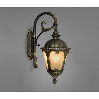 NOWODVORSKI 4686 | Tybr Nowodvorski falikar lámpa 1x E27 IP44 fekete, opál
