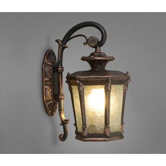 NOWODVORSKI 4692 | AmurN Nowodvorski falikar lámpa 1x E27 IP23 bronz, áttetsző