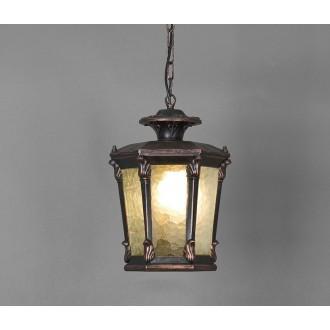 NOWODVORSKI 4693 | AmurN Nowodvorski függeszték lámpa 1x E27 IP23 bronz, áttetsző