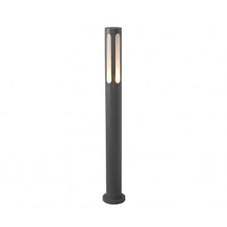 NOWODVORSKI 4698 | Mekong Nowodvorski álló lámpa 100cm 1x E27 IP42 fekete, fehér