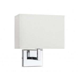 NOWODVORSKI 4730 | Hotel Nowodvorski falikar lámpa 1x E27 króm, fehér