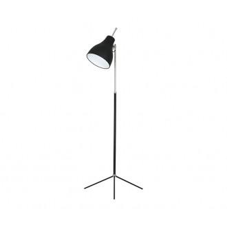 NOWODVORSKI 4750 | ChesterN Nowodvorski álló lámpa 130cm kapcsoló állítható magasság 1x E27 fekete, króm