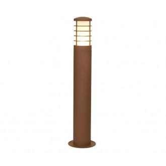 NOWODVORSKI 4906 | HornN Nowodvorski álló lámpa 65cm energiatakarékos izzóhoz tervezve 1x E27 IP44 barna, opál