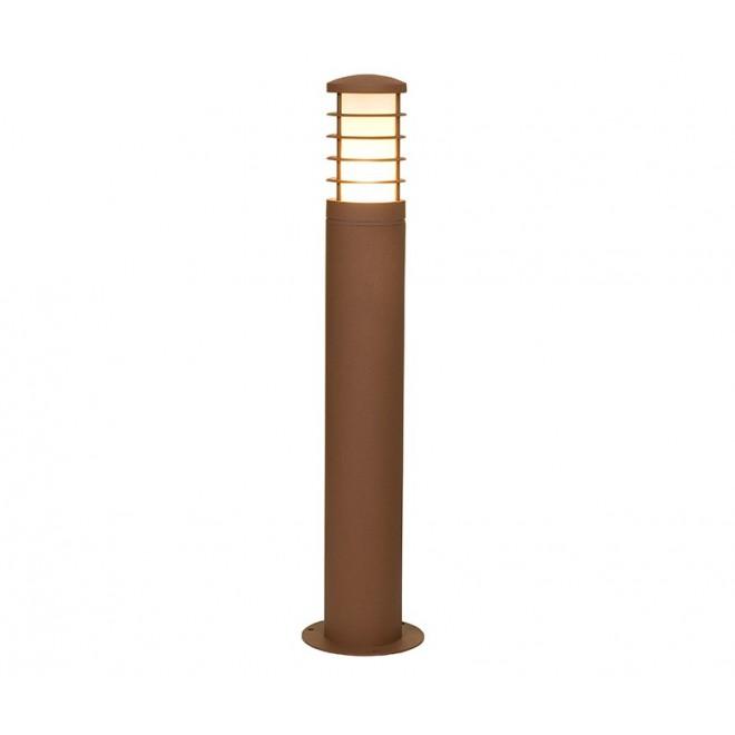 NOWODVORSKI 4906 | HornN Nowodvorski álló lámpa 65cm energiatakarékos izzóhoz tervezve 1x E27 IP44 barna, fehér