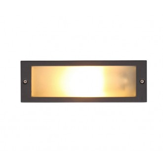 NOWODVORSKI 4907 | InaN Nowodvorski beépíthető lámpa energiatakarékos izzóhoz tervezve 1x E27 IP65 szürke
