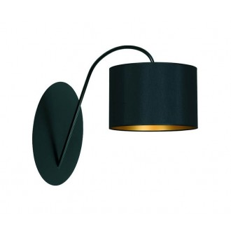 NOWODVORSKI 4958   AliceN Nowodvorski fali lámpa 1x E27 fekete, arany