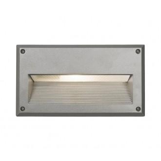 NOWODVORSKI 4966 | Basalt Nowodvorski beépíthető lámpa 1x E14 IP44 ezüst