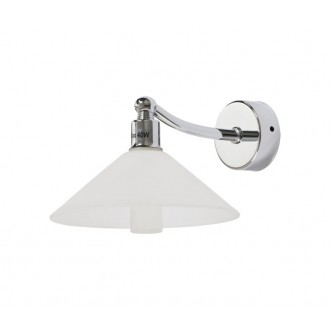 NOWODVORSKI 5264 | MiltonN Nowodvorski fali lámpa 1x G9 IP44 króm, opál