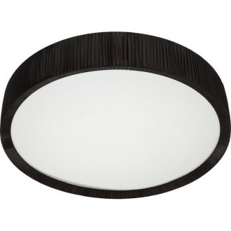 NOWODVORSKI 5287 | Alehandro Nowodvorski mennyezeti lámpa 2|2x T5 + 200x LED fekete, opál