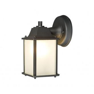NOWODVORSKI 5290 | Spey Nowodvorski fali lámpa 1x E27 IP23 sötétszürke, opál
