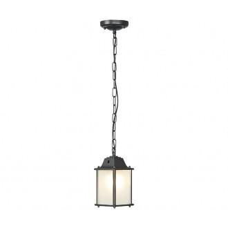NOWODVORSKI 5291 | Spey Nowodvorski függeszték lámpa 1x E27 IP23 sötétszürke, opál